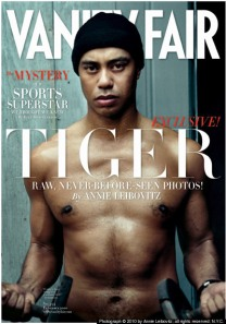 Tiger Woods on February Issue of Vanity Fair