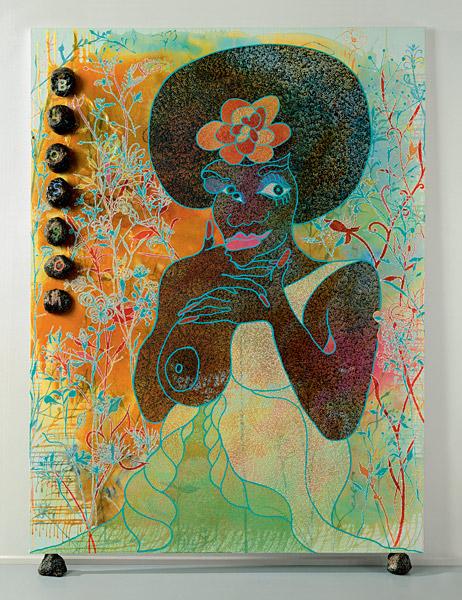Blossom - Chris Ofili