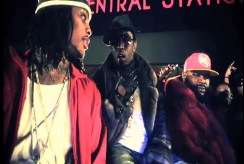 Wacka Flocka, Diddy & Rick Ross