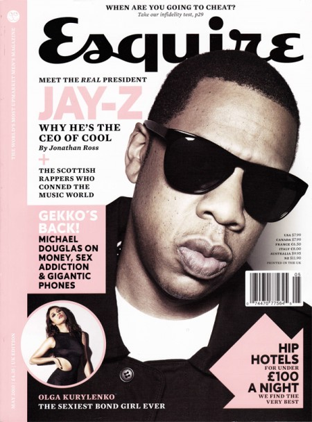 Jay-Z Esquire Cover